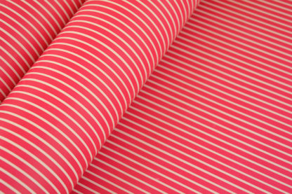 Wrapping-Paper-Gloss-stripes-red