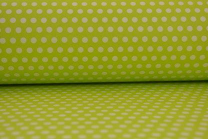 Χαρτί περιτυλίγματος πράσινο πουά