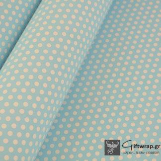paper-wrap-blue-polka-dot