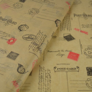 tissue-paper-kraft-color-post-office-theme
