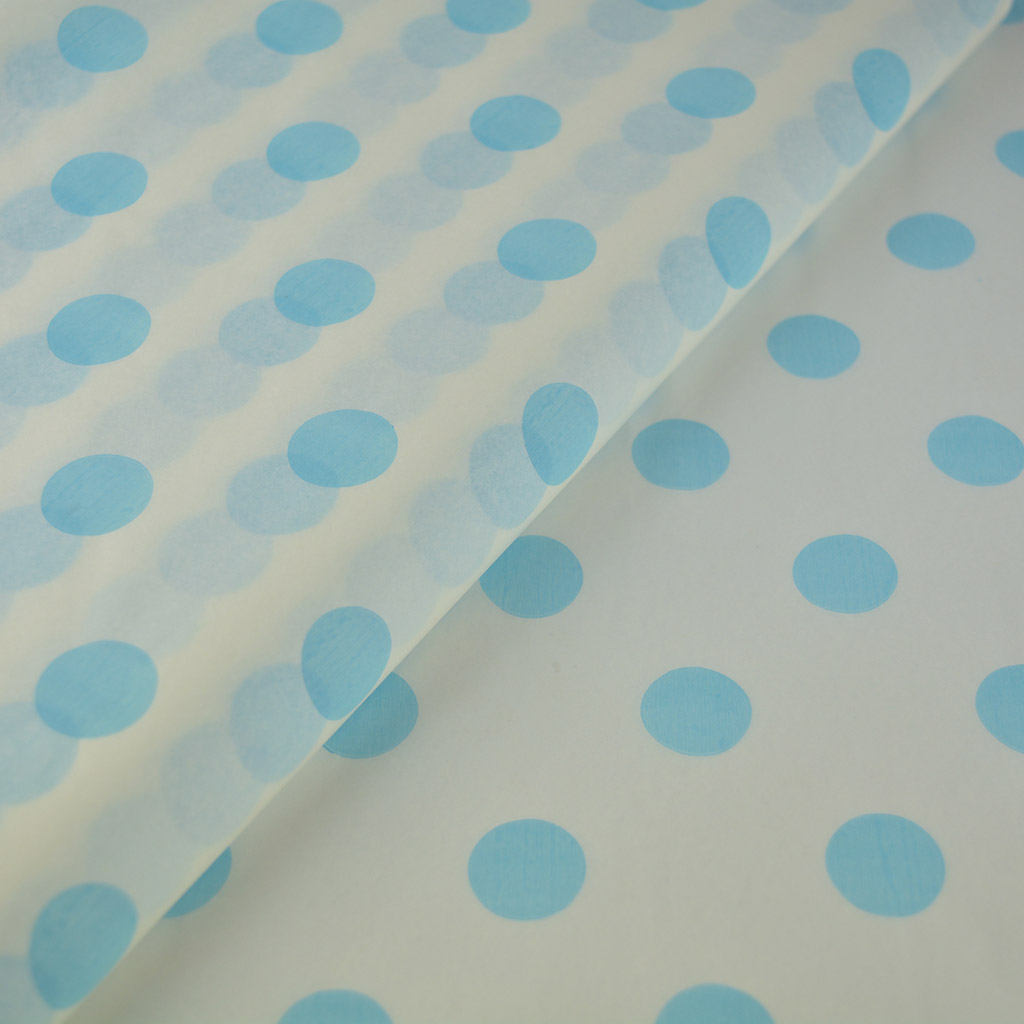 tissue-paper-cyan-large-dots