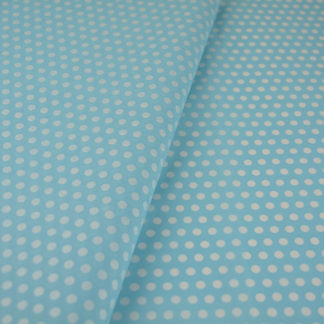 tissue-paper-cyan-white-small-dots