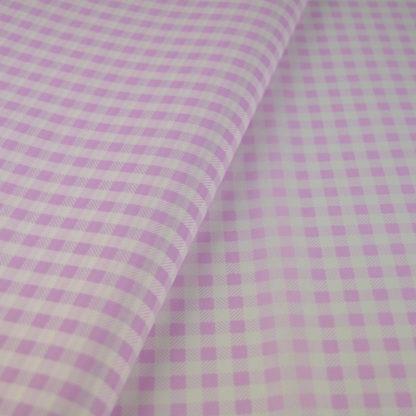 Χαρτί αφής καρό λιλά-ροζ