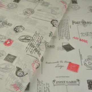 Χαρτί αφής προεκτυπωμένο - Θέμα Ταχυδρομείο