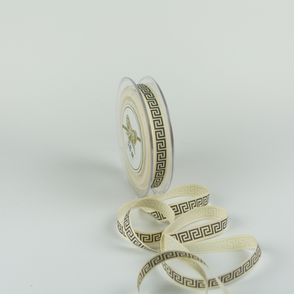Ribbon printed meandros 15mm