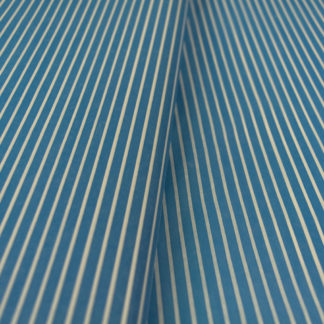 tissue paper blue white stripes