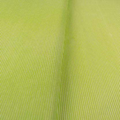 tissue paper green white thin stripes
