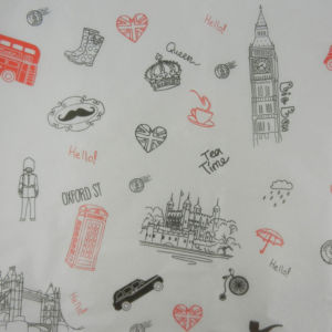 Χαρτί αφής προεκτυπωμένο - Θέμα Λονδίνο