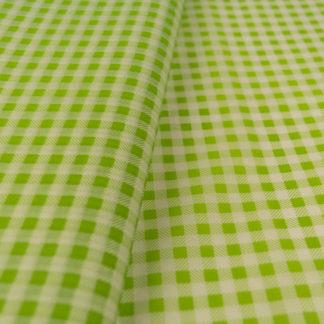Πράσινο Χαρτί αφής με λευκό καρό