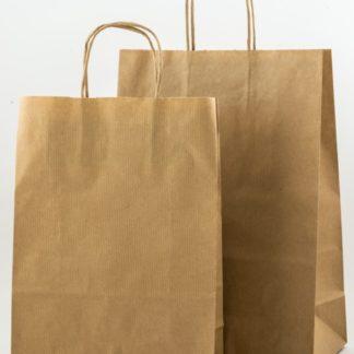 Χάρτινη τσάντα στριφτό χέρι