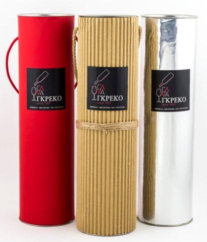 Custom paper tubes for bottle packaging