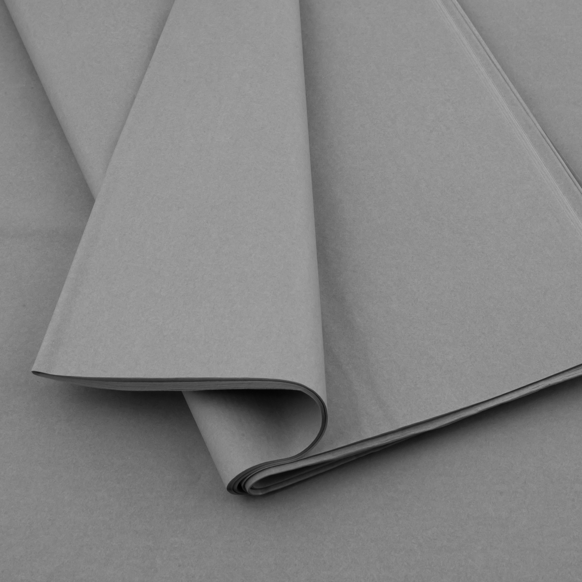 Plain tissue paper Grey