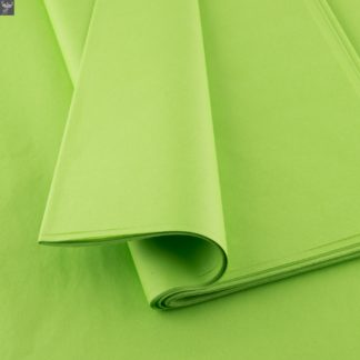 Plain tissue paper Lime Green