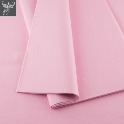 Plain tissue paper baby pink