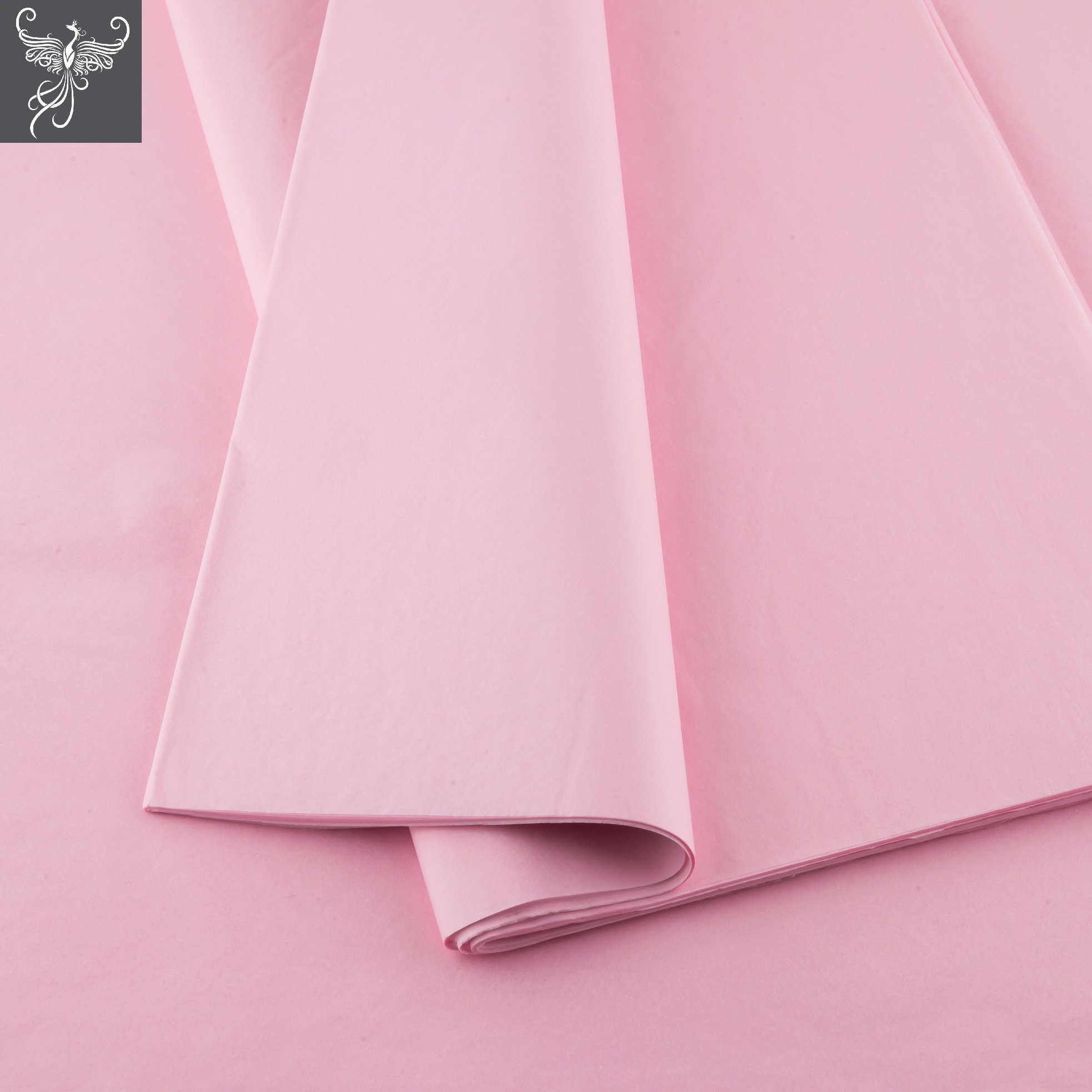 Plain tissue paper baby pink