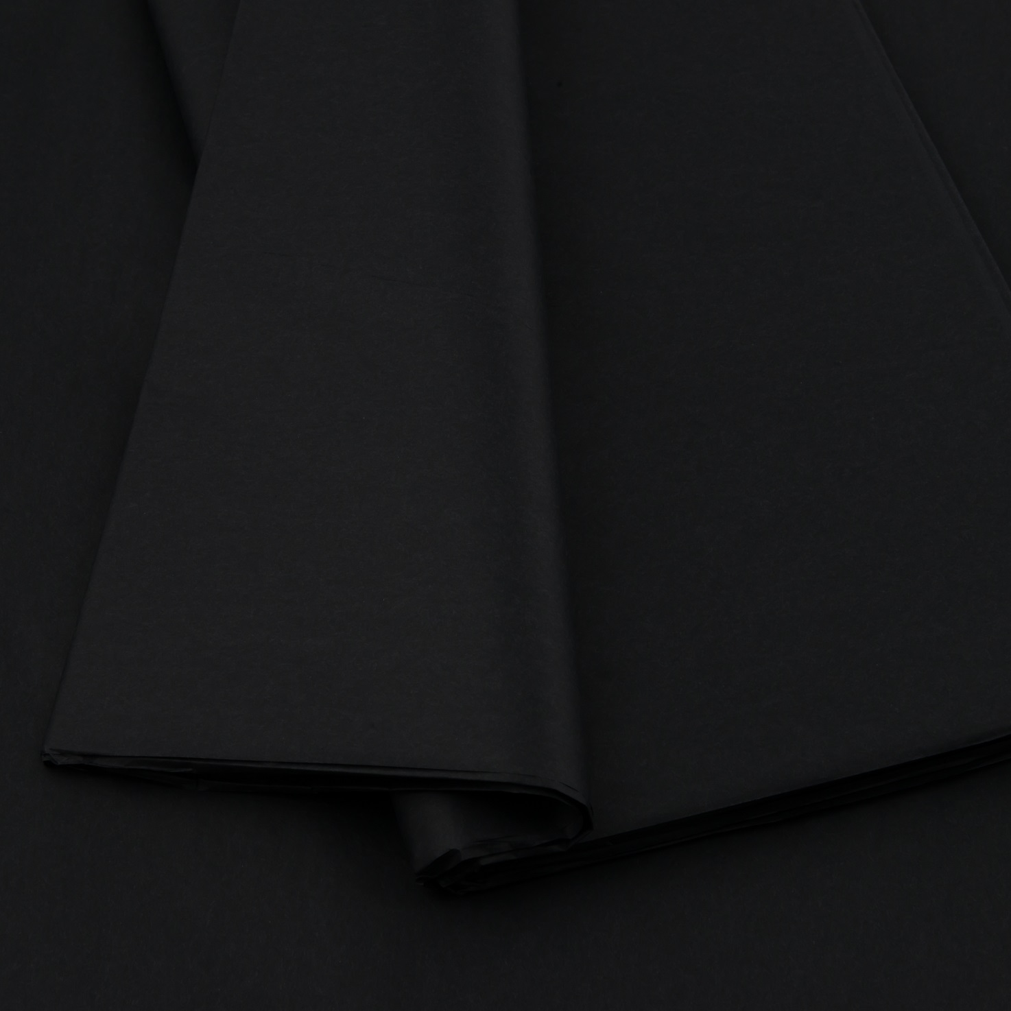 Plain tissue paper black