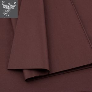 Plain tissue paper brown