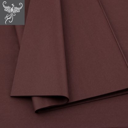 Plain tissue paper brown