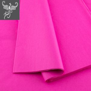 Plain tissue paper hot pink