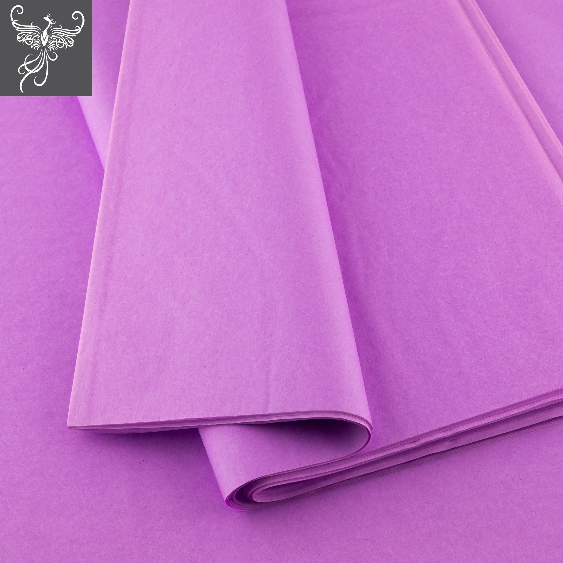 Plain tissue paper lilac