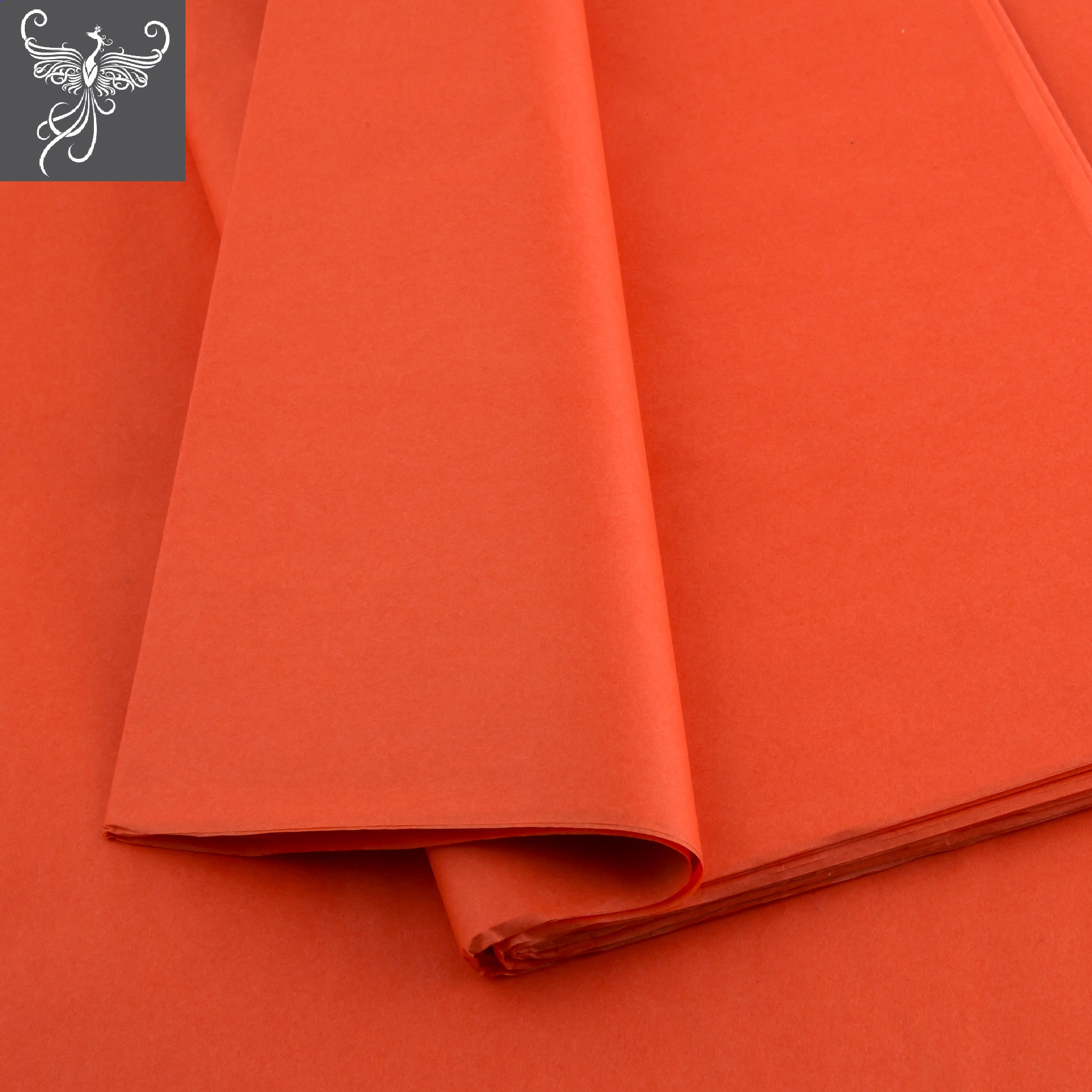 Silk paper orange