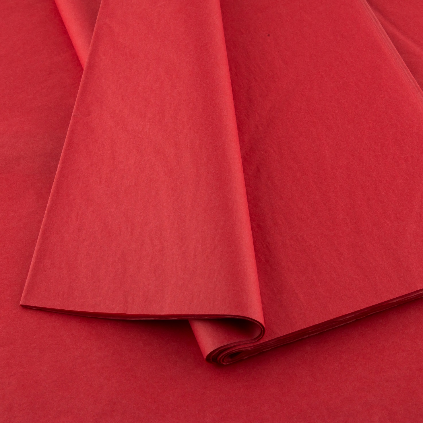Plain tissue paper red