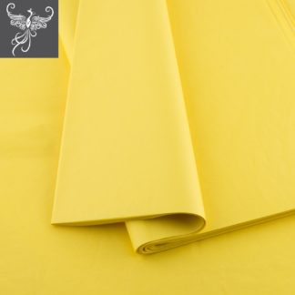 Plain tissue paper yellow