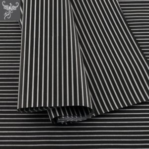 Tissue paper stripes black and white